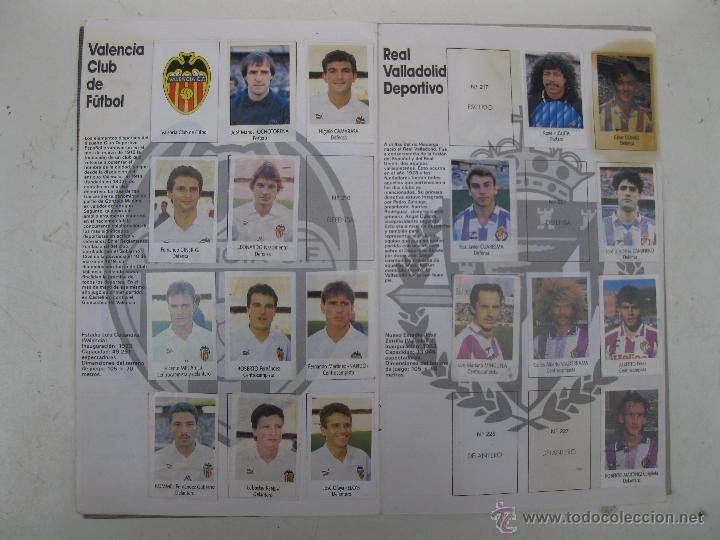 Coleccionismo deportivo: ÁLBUM DE CROMOS - LIGA FÚTBOL 91-92 - BIMBO. - Foto 12 - 51959835