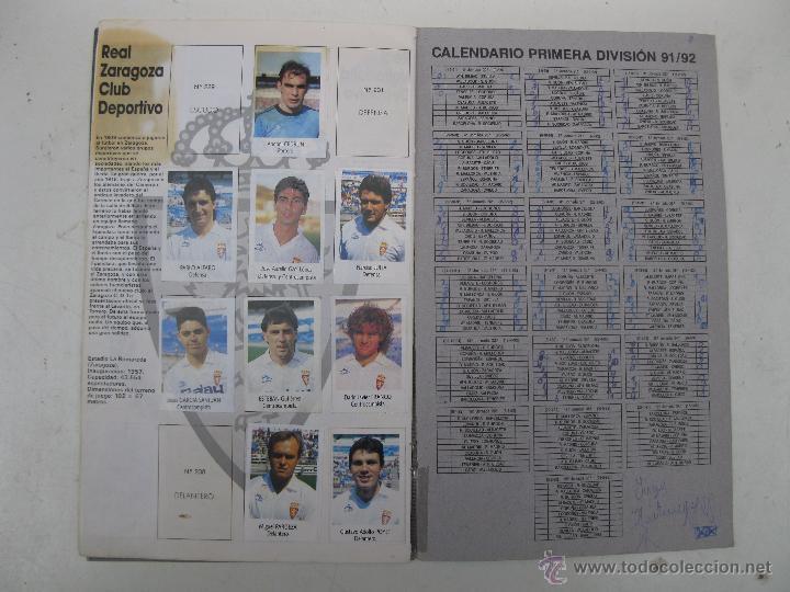 Coleccionismo deportivo: ÁLBUM DE CROMOS - LIGA FÚTBOL 91-92 - BIMBO. - Foto 13 - 51959835