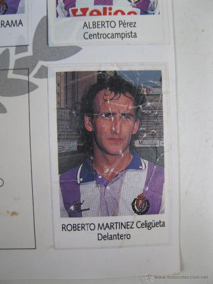 Coleccionismo deportivo: ÁLBUM DE CROMOS - LIGA FÚTBOL 91-92 - BIMBO. - Foto 19 - 51959835