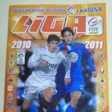 Coleccionismo deportivo: ÁLBUM DE CROMOS DE FÚTBOL. LIGA 2010 2011. COLECCIONES ESTE PANINI. CONTIENE 473 CROMOS. Lote 51966535