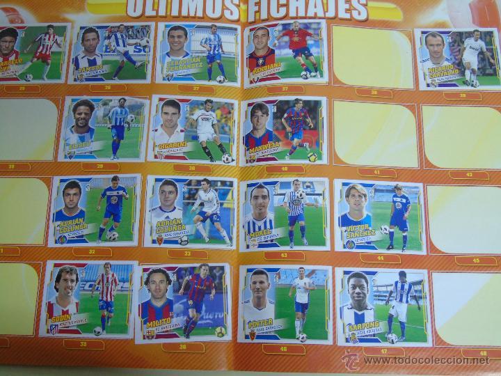 Coleccionismo deportivo: ÁLBUM DE CROMOS DE FÚTBOL. LIGA 2010 2011. COLECCIONES ESTE PANINI. CONTIENE 473 CROMOS - Foto 3 - 51966535