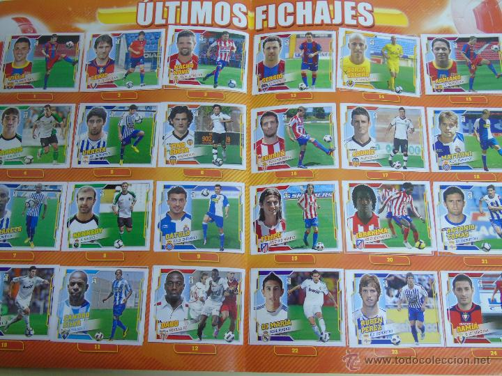 Coleccionismo deportivo: ÁLBUM DE CROMOS DE FÚTBOL. LIGA 2010 2011. COLECCIONES ESTE PANINI. CONTIENE 473 CROMOS - Foto 4 - 51966535