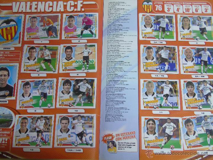 Coleccionismo deportivo: ÁLBUM DE CROMOS DE FÚTBOL. LIGA 2010 2011. COLECCIONES ESTE PANINI. CONTIENE 473 CROMOS - Foto 8 - 51966535