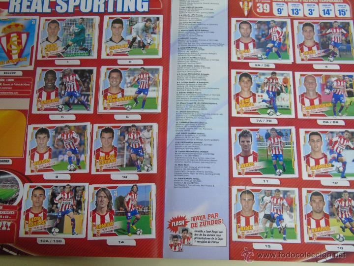 Coleccionismo deportivo: ÁLBUM DE CROMOS DE FÚTBOL. LIGA 2010 2011. COLECCIONES ESTE PANINI. CONTIENE 473 CROMOS - Foto 9 - 51966535