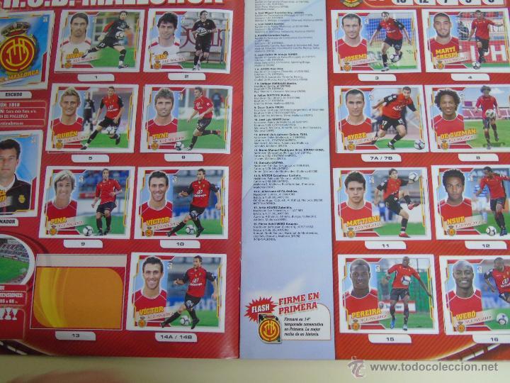 Coleccionismo deportivo: ÁLBUM DE CROMOS DE FÚTBOL. LIGA 2010 2011. COLECCIONES ESTE PANINI. CONTIENE 473 CROMOS - Foto 14 - 51966535