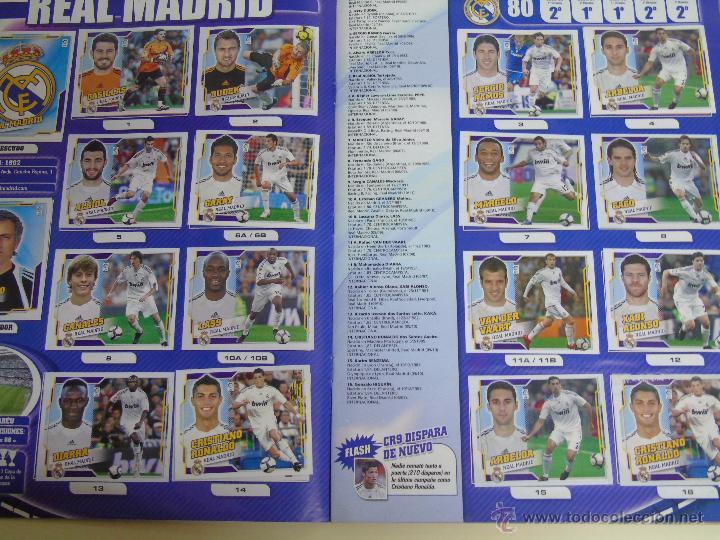 Coleccionismo deportivo: ÁLBUM DE CROMOS DE FÚTBOL. LIGA 2010 2011. COLECCIONES ESTE PANINI. CONTIENE 473 CROMOS - Foto 16 - 51966535