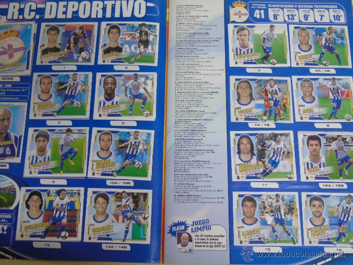Coleccionismo deportivo: ÁLBUM DE CROMOS DE FÚTBOL. LIGA 2010 2011. COLECCIONES ESTE PANINI. CONTIENE 473 CROMOS - Foto 21 - 51966535