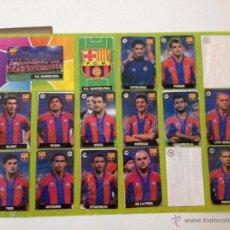 Coleccionismo deportivo: ALBUM DEL CHICLE LA LIGA DE LA ESTRELLAS 1996 1997 96 97 BARCELONA. Lote 52134308