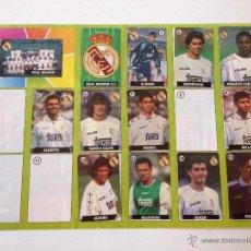 Coleccionismo deportivo: ALBUM DEL CHICLE LA LIGA DE LA ESTRELLAS 1996 1997 96 97 REAL MADRID. Lote 52134326
