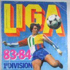 Coleccionismo deportivo: ALBUM DE CROMOS LIGA 83 / 84 , 1ª DIVISIÓN , INCOMPLETO. Lote 52414885