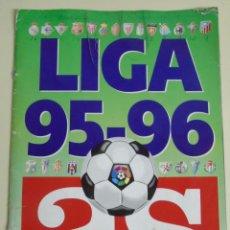 Coleccionismo deportivo: ÁLBUM DE CROMOS. LIGA 95 96 1995 1996. DIARIO AS. CONTIENE 131 CROMOS. Lote 52471330