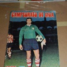 Coleccionismo deportivo: ALBUM CAMPEONATO DE LIGA 1975 / 76 , EDT DISGRA , FALTAN 36 CROMOS . Lote 52530042