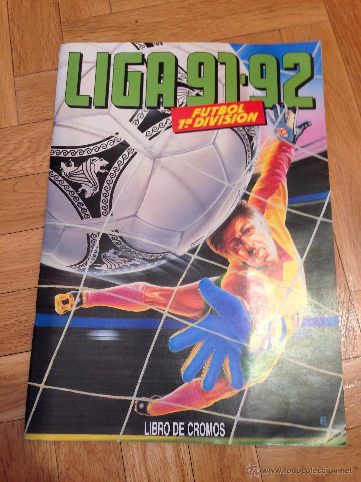 RP ALBUM LIGA ESTE 91 92 1991 1992 COMPLETAMENTE VACIO VER FOTOS UNICO EN TODOCOLECCION!!!!! (Coleccionismo Deportivo - Álbumes y Cromos de Deportes - Álbumes de Fútbol Incompletos)