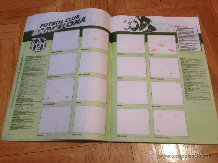 Coleccionismo deportivo: RP ALBUM LIGA ESTE 91 92 1991 1992 COMPLETAMENTE VACIO VER FOTOS UNICO EN TODOCOLECCION!!!!! - Foto 4 - 68150163