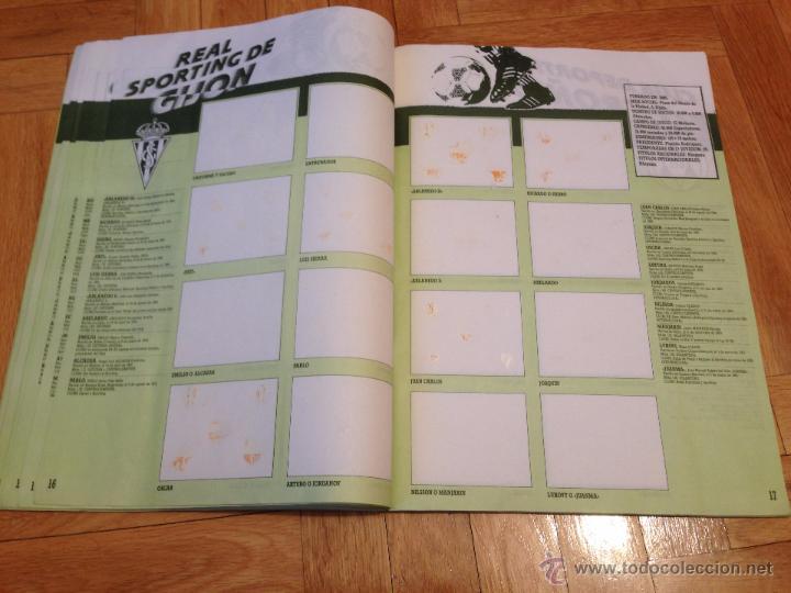 Coleccionismo deportivo: RP ALBUM LIGA ESTE 91 92 1991 1992 COMPLETAMENTE VACIO VER FOTOS UNICO EN TODOCOLECCION!!!!! - Foto 10 - 68150163
