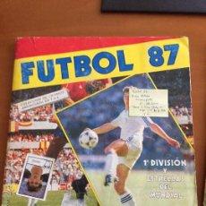 Coleccionismo deportivo: FUTBOL 87 PANINI MUY LLENO SE VENDEN SUELTOS . Lote 52552718