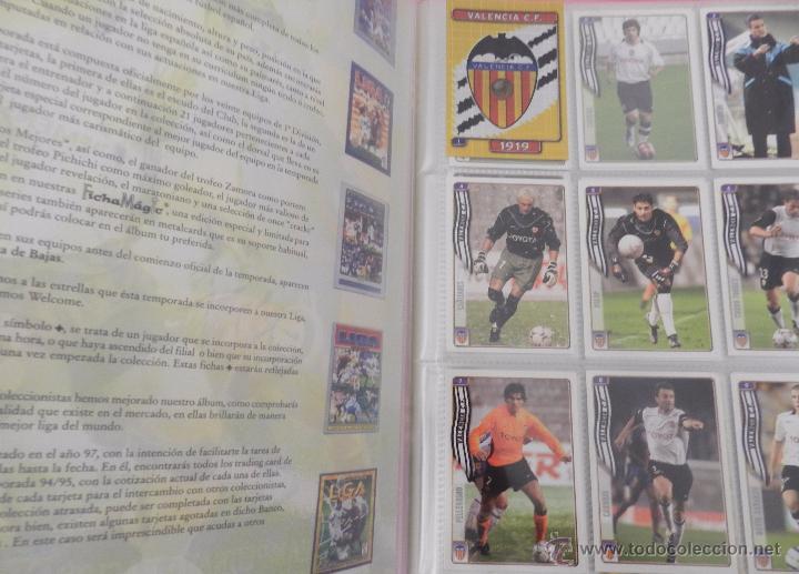 Coleccionismo deportivo: COLECCION LAS FICHAS DE LA LIGA MUNDICROMO 2004/2005 LOTE 500 FICHAS MC 04/05 + ARCHIVADOR ORIGINAL - Foto 2 - 52624044