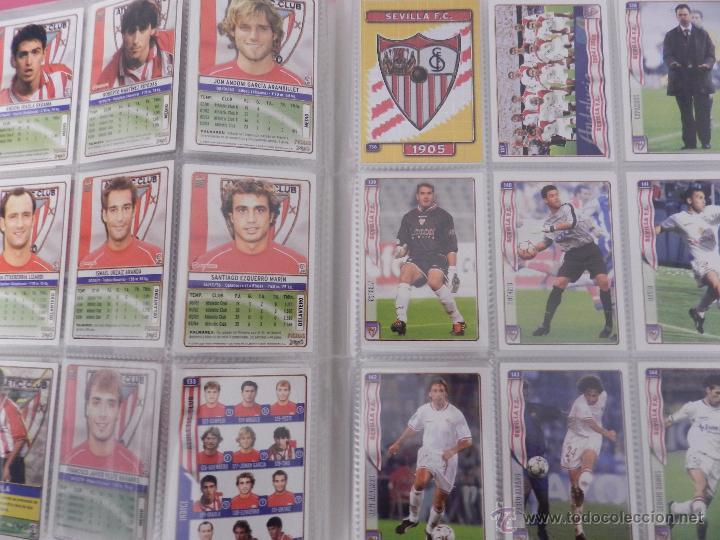 Coleccionismo deportivo: COLECCION LAS FICHAS DE LA LIGA MUNDICROMO 2004/2005 LOTE 500 FICHAS MC 04/05 + ARCHIVADOR ORIGINAL - Foto 3 - 52624044
