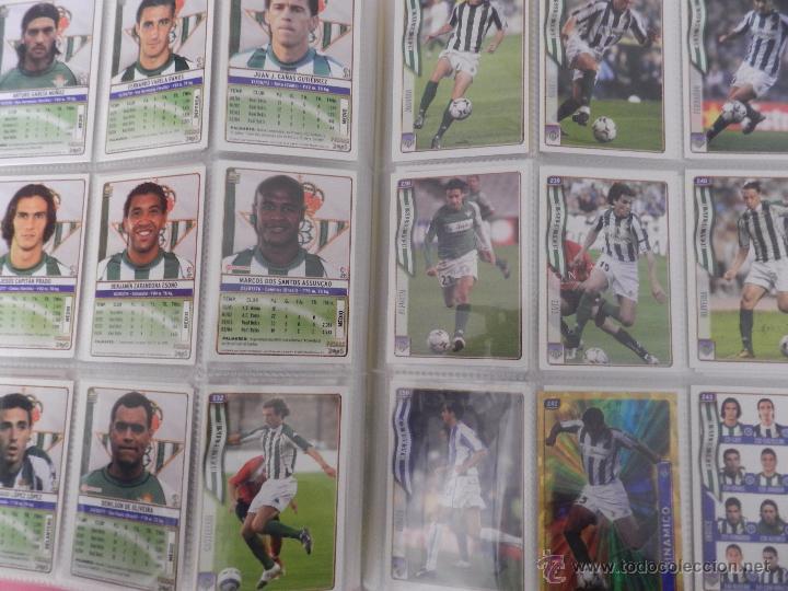 Coleccionismo deportivo: COLECCION LAS FICHAS DE LA LIGA MUNDICROMO 2004/2005 LOTE 500 FICHAS MC 04/05 + ARCHIVADOR ORIGINAL - Foto 4 - 52624044