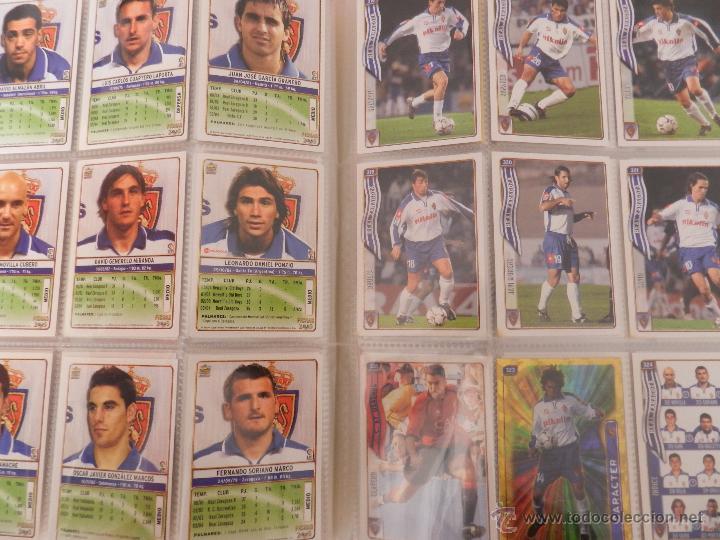 Coleccionismo deportivo: COLECCION LAS FICHAS DE LA LIGA MUNDICROMO 2004/2005 LOTE 500 FICHAS MC 04/05 + ARCHIVADOR ORIGINAL - Foto 5 - 52624044