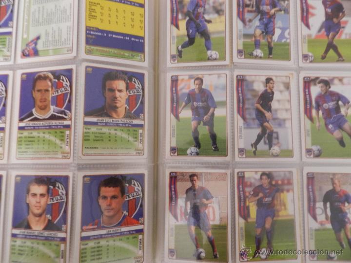 Coleccionismo deportivo: COLECCION LAS FICHAS DE LA LIGA MUNDICROMO 2004/2005 LOTE 500 FICHAS MC 04/05 + ARCHIVADOR ORIGINAL - Foto 6 - 52624044