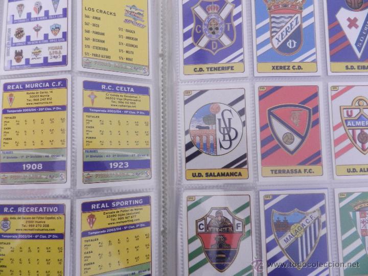 Coleccionismo deportivo: COLECCION LAS FICHAS DE LA LIGA MUNDICROMO 2004/2005 LOTE 500 FICHAS MC 04/05 + ARCHIVADOR ORIGINAL - Foto 7 - 52624044