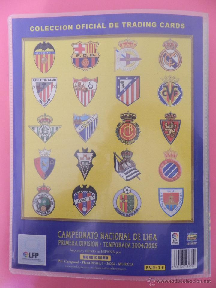 Coleccionismo deportivo: COLECCION LAS FICHAS DE LA LIGA MUNDICROMO 2004/2005 LOTE 500 FICHAS MC 04/05 + ARCHIVADOR ORIGINAL - Foto 8 - 52624044