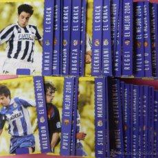 Coleccionismo deportivo: LOTE COMPLETO MAGIC COLECCION LAS FICHAS DE LA LIGA MUNDICROMO 2004/2005 MC 04/05 SERIE COMPLETA. Lote 52624279