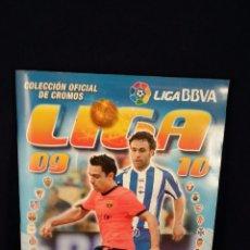 Coleccionismo deportivo: ÁLBUM DE LA LIGA 09 - 10. INCOMPLETO FALTAN 19 CROMOS Y ALGUNOS FICHAJES.. Lote 52698688