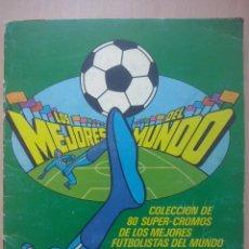 Coleccionismo deportivo: ALBUM CHICLE FUTBOL BOOMER- 80 CROMOS DE LOS MEJORES FUTBOLISTAS DEL MUNDO 1981- FALTAN 14 CROMOS. Lote 52729226