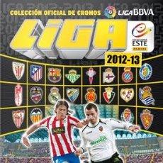Coleccionismo deportivo: ALBUM OFICIAL CROMOS LIGA BBVA. 2012-2013.. Lote 52774572