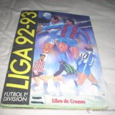 Coleccionismo deportivo: ALBUM DE LA LIGA 1992-93 DE ESTE CON ZAMORANO Y SIMEONE. Lote 52832386