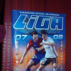 Coleccionismo deportivo: ALBUM LIGA 2007 2008 CON 508 CROMOS. Lote 52854152