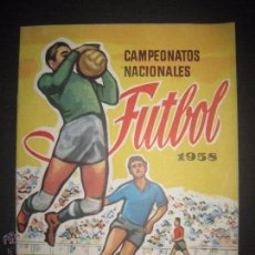 Coleccionismo deportivo: CAMPEONATOS NACIONALES FUTBOL 1958 - RUIZ ROMERO - ALBUM VACIO Y EN MUY BUEN ESTADO - (V-5240). Lote 52864579