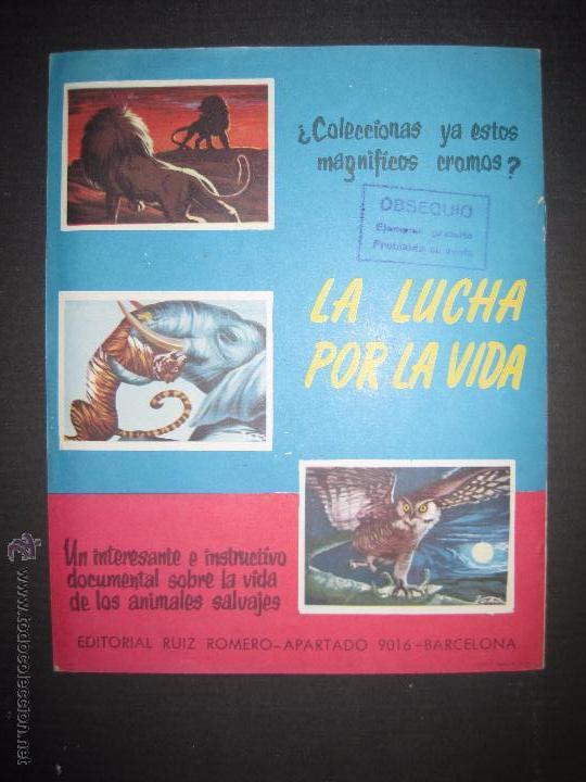 Coleccionismo deportivo: CAMPEONATOS NACIONALES FUTBOL 1958 - RUIZ ROMERO - ALBUM VACIO Y EN MUY BUEN ESTADO - Foto 4 - 52864579
