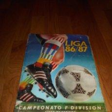 Coleccionismo deportivo: ALBUM CROMOS - LIGA 1986-1987 86-87 - ED. ESTE - VER FOTOS. Lote 52889971