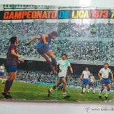 Coleccionismo deportivo: ALBUM COMPLETO (LEER MUY BIEN LA DESCRIPCION) EDITORIAL FHER TEMPORADA 73 74 LIGA 1973 1974. Lote 78072813