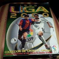 Coleccionismo deportivo: ESTE 1999-2000 ALBÚM CASI COMPLETO CON NAGORE DEL BILBAO (VER TODAS LAS FOTOS). Lote 52957517