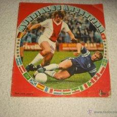 Coleccionismo deportivo: MUNDIALES ARGENTINA ED. FHER . TIENE 29 CROMOS. Lote 52958889