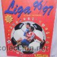 Coleccionismo deportivo: ALBUM LIGA 96/97 PANINI CON MÁS DE 390 CROMOS. Lote 53084767