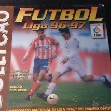 Coleccionismo deportivo: ALBUM DE CROMOS BOLLICAO LIGA FUTBOL 96-97 1996-1997. CON 304 CROMOS. FALTAN SOLO 12. Lote 53115272