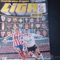 Coleccionismo deportivo: ALBUM LIGA FUTBOL 2012-2013 12-13 . CON 42 CROMOS. PANINI . Lote 53116602
