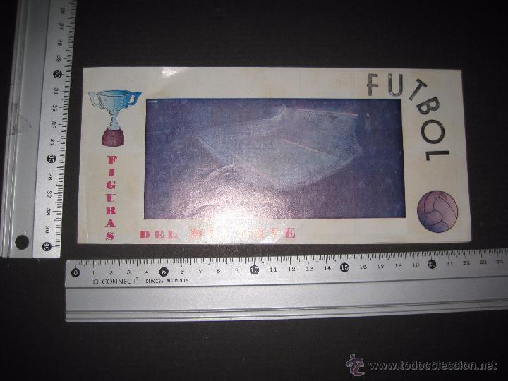 Coleccionismo deportivo: FIGURAS DEL DEPORTE - FUTBOL - PIPAS - INCOMPLETO - VER FOTOS - (ZC- 32) - Foto 5 - 53188976