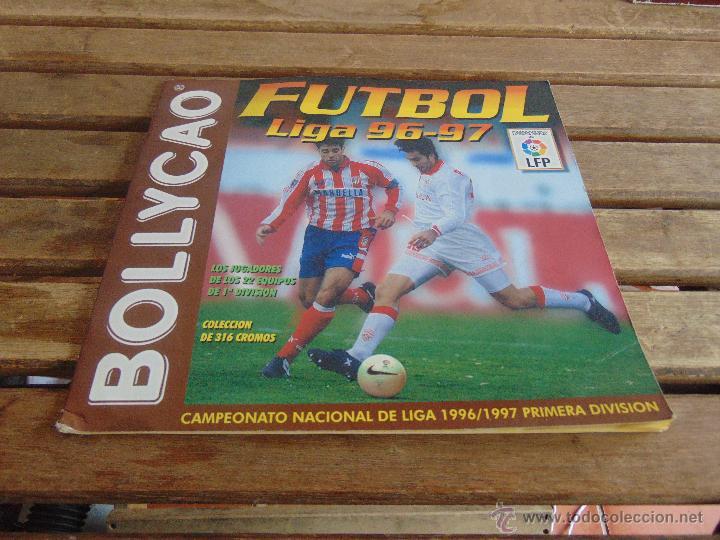ALBUM DE BOLLYCAO FUTBOL LIGA 96 97 1996 1997 (Coleccionismo Deportivo - Álbumes y Cromos de Deportes - Álbumes de Fútbol Incompletos)