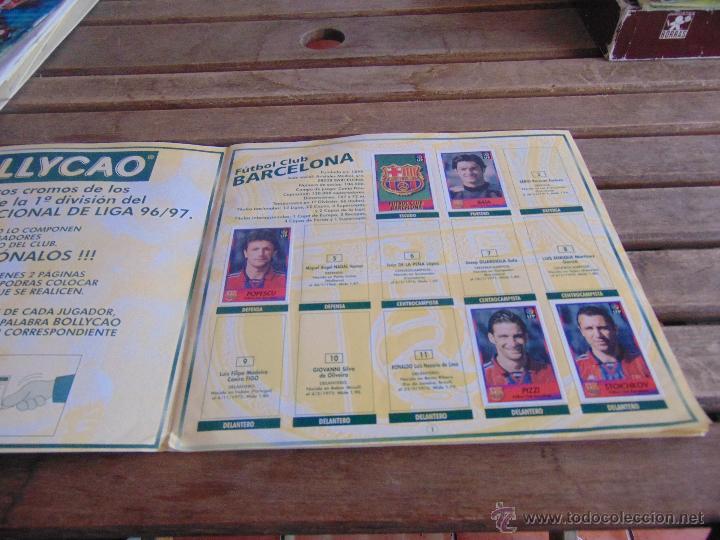 Coleccionismo deportivo: ALBUM DE BOLLYCAO FUTBOL LIGA 96 97 1996 1997 - Foto 2 - 53192910