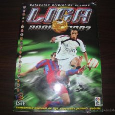 Coleccionismo deportivo: ÁLBUM ESTE LIGA 2006-07. Lote 53325770