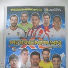 Coleccionismo deportivo: ALBUM FICHERO ARCHIVADOR PLASTICO VACIO SIN CROMOS ADRENALYN XL PANINI LIGA FUTBOL 2014 2015 14 15. Lote 70582433