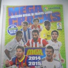 Coleccionismo deportivo: ALBUM FICHERO ARCHIVADOR PLASTICO VACIO SIN CROMOS MGK MEGACRACKS PANINI LIGA FUTBOL 2014 2015 14 15. Lote 85478419