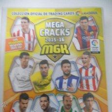Coleccionismo deportivo: ALBUM FICHERO ARCHIVADOR PLASTICO VACIO SIN CROMOS MGK MEGACRACKS PANINI LIGA FUTBOL 2015 2016 15 16. Lote 83118344
