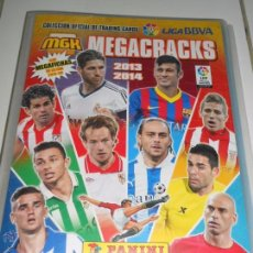 Coleccionismo deportivo: ALBUM FICHERO ARCHIVADOR PLASTICO VACIO SIN CROMOS MGK MEGACRACKS PANINI LIGA FUTBOL 2013 2014 13 14. Lote 83118315